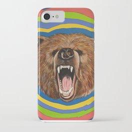 Retro Bear iPhone Case