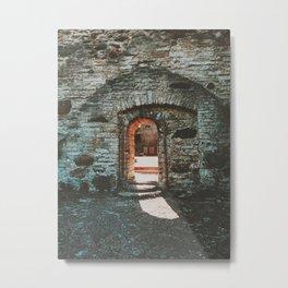 Estonian Monastery Metal Print