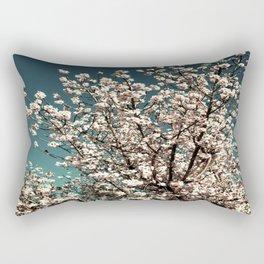 Winter Blossoms Rectangular Pillow