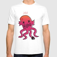 Baked Octopus Poster White Mens Fitted Tee SMALL