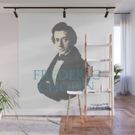 Frederic Chopin Portrait Wall Mural