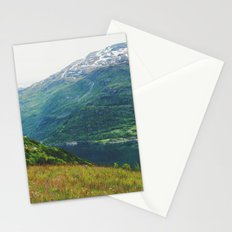 norwegian west Stationery Cards