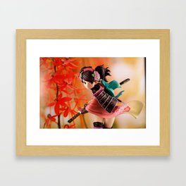 Beautiful Warrior Framed Art Print