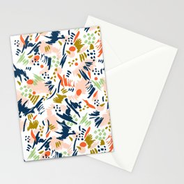 Brushstroke I Stationery Cards
