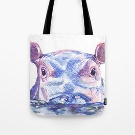 Happy Hippo Fiona Tote Bag