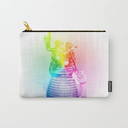 Rainbow Rocket Scientist Carry-All Pouch