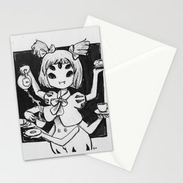 Inktober Day 10: Deadly Desserts (Muffet) Stationery Cards
