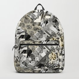 Exotic patchwork. Backpack