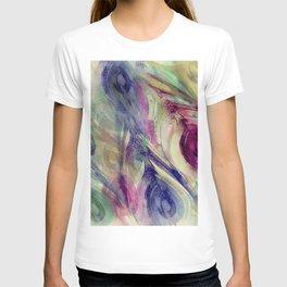 Peacock Dress Pattern T-shirt