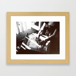 Coffee and Cigarettes  Framed Art Print