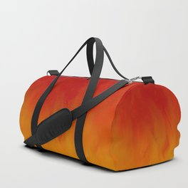 Flames of Gold Duffle Bag