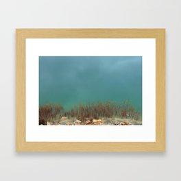 Serene River Bank Framed Art Print