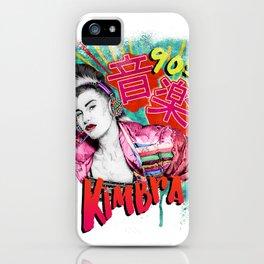 Kimbra 90s Music iPhone Case