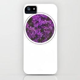 Subtly Flourishing - Circle iPhone Case
