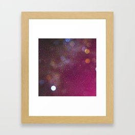 Looking Up Into Space Framed Art Print