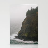 oregon Stationery Cards featuring Oregon Coast: III // Oregon by Corrie Mick