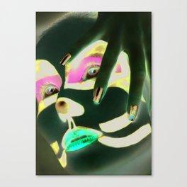 Kiss Peter Canvas Print