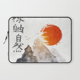 Japanese Landscape Art v6 Laptop Sleeve