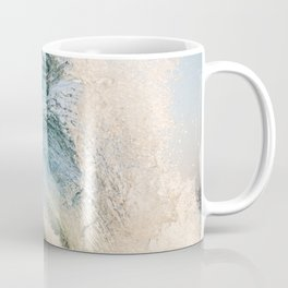 Sunrise light on beautiful wave Coffee Mug