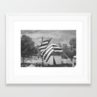 american flag Framed Art Prints featuring American Flag by Matthew Gamble
