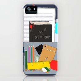 Artist's bag iPhone Case