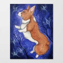 Dancing with the Faerie Canvas Print