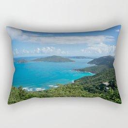 Caribbean Paradise Rectangular Pillow