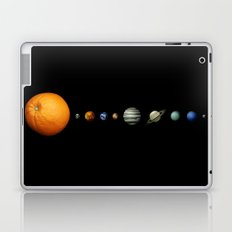 Orange System Laptop & iPad Skin
