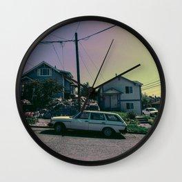 hatchback Wall Clock