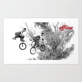 Offline II Art Print