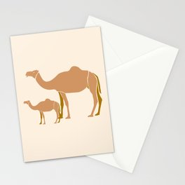 Camel Mother #draw #society6 #animal Stationery Cards