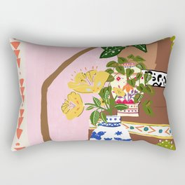 Bohemian stairs Rectangular Pillow