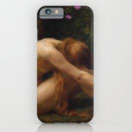 The Last Temptation of Eve by Anna Lea Merritt iPhone Case