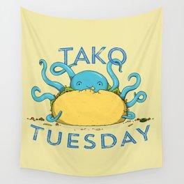 Tako Tuesdays Wall Tapestry