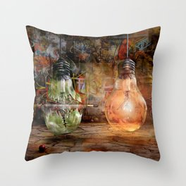 Quickly shot Throw Pillow