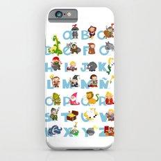ABC  medieval (spanish) iPhone 6s Slim Case