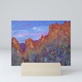 Garden of the Gods, Colorado Springs Mini Art Print