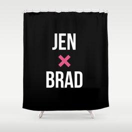 JEN + BRAD Shower Curtain