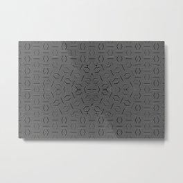 2805 DL pattern 2 Metal Print