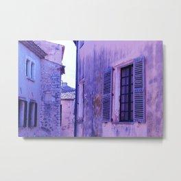 Ancient purple village Metal Print