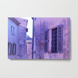 Ancient purple village Metal Print
