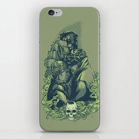 daunt iPhone & iPod Skins featuring Just Don't by Daunt