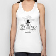 Mick was NOT amused (#16). Unisex Tank Top