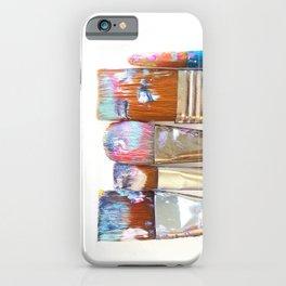 Five Paintbrushes Minimalist Photography iPhone Case