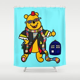 Doctor Pooh Shower Curtain