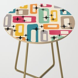 Retro Mid Century Modern Abstract Pattern 242 Side Table