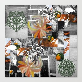 Nature's Glitch Canvas Print