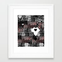 tiffany Framed Art Prints featuring Tiffany by Robin Maria Pedrero