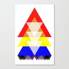 Trini Tee Small Canvas Print