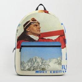Ski Italy Backpack